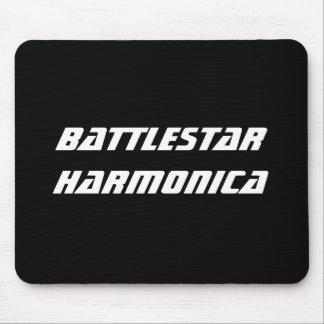 Battlestar Harmonica Mouse Pad