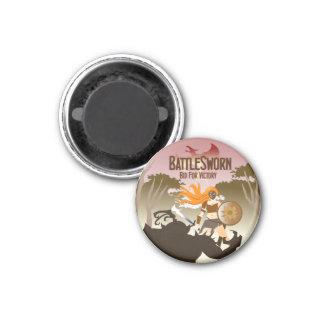 Battlesworn round magnet