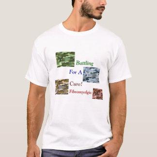 Battling for a cure! Fibromyalgia T-Shirt
