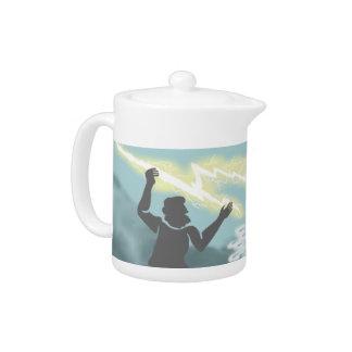 Battling Gods Teapot