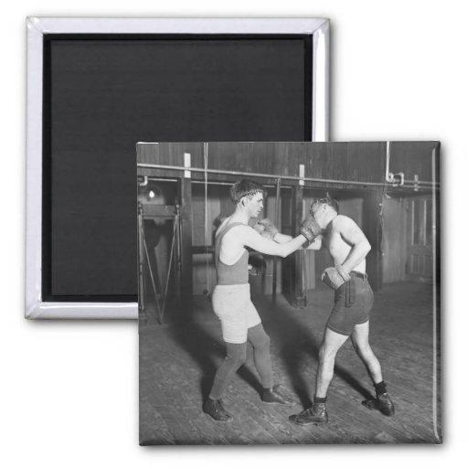 Battling Nelson aka The Durable Dane, 1920s Magnets