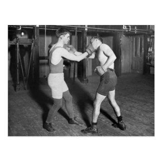 Battling Nelson aka The Durable Dane, 1920s Postcard