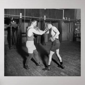 Battling Nelson aka The Durable Dane 1920s Print