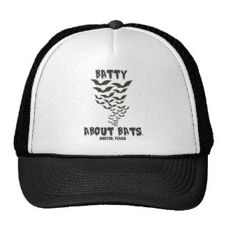 Batty about bats cap trucker hat