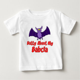 Batty About My Babcia Baby T-Shirt