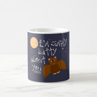 Batty About You - Change Color Coffee Mug