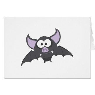 Batty Bat Stationery Note Card
