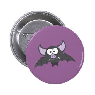 Batty Bat Pinback Button