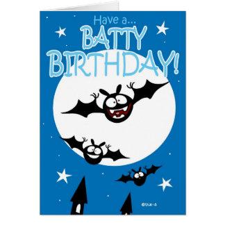 Batty Birthday Card