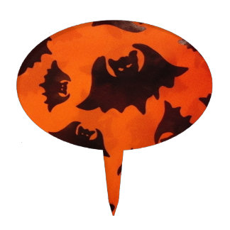 Batty Cake Topper