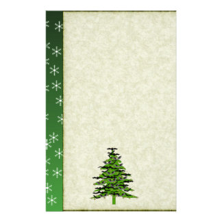 Batty Christmas Tree Stationery
