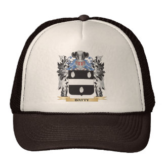 Batty Coat of Arms - Family Crest Trucker Hat