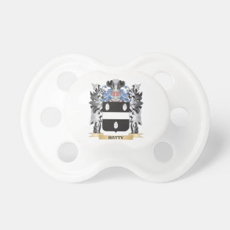 Batty Coat of Arms - Family Crest BooginHead Pacifier