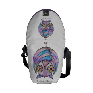 'Batty Days' Bag Messenger Bag