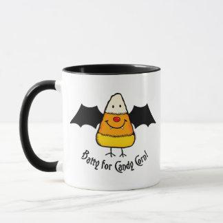 Batty For Candy Corn Mug