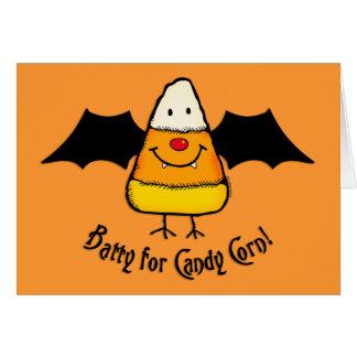 Batty For Candy Corn v1 Card