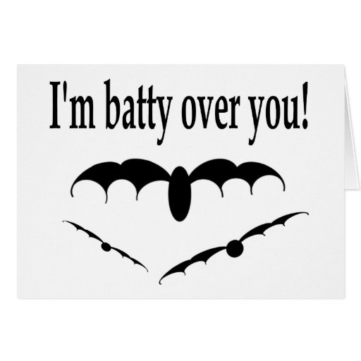 Batty Greeting Cards