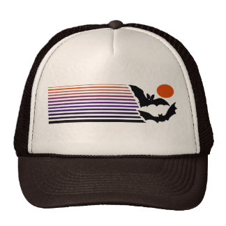 Batty Halloween Trucker Hat