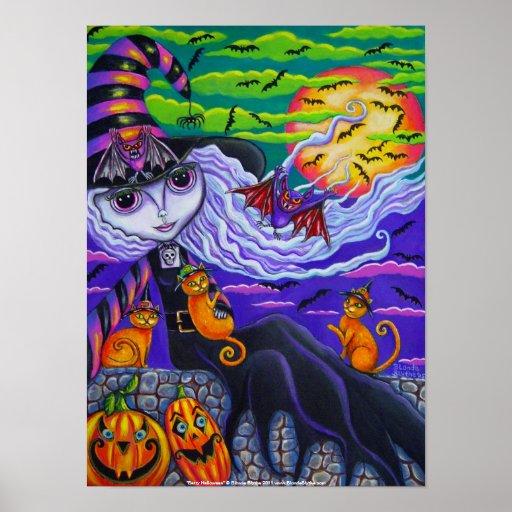 Batty Halloween Poster