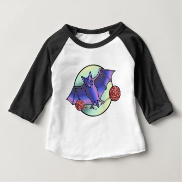 Halloween Themed Batty Lollipops Baby T-Shirt