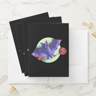 Batty Lollipops Pocket Folder
