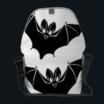 """&quot;Batty&quot; Messenger Bag<br><div class=""""desc"""">Your purchase supports fightwns,  a 501(c)(3) advocacy initiative that celebrates North American bats as beautiful and essential components of our ecosystem and financially supports white-nose syndrome and Pseudogymnoascus destructans research via the &#39;Microgrants for Microbats&#39; program.</div>"""