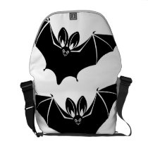 """""""Batty"""" Messenger Bag"""