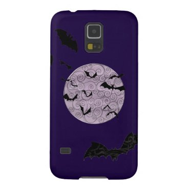 Halloween Themed Batty Moon - Samsung Galaxy S5, Barely There Case