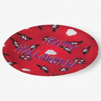 Batty Paper Plate