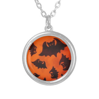 Batty Silver Plated Necklace