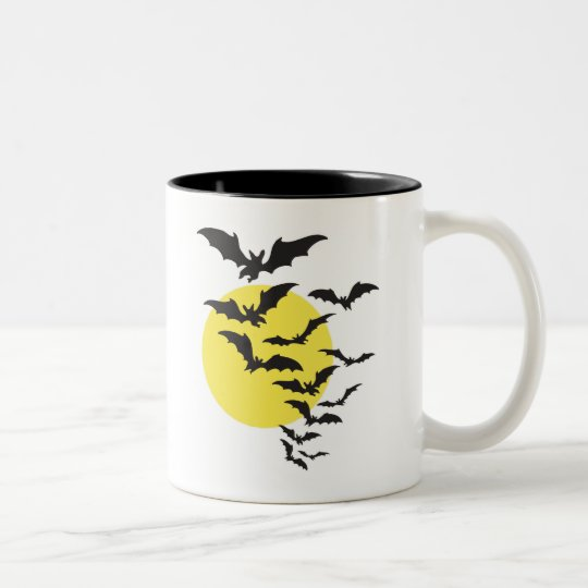 Batty Two-Tone Coffee Mug