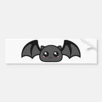 battycharms-bat bumper sticker