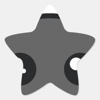 battycharms-palo pegatina en forma de estrella