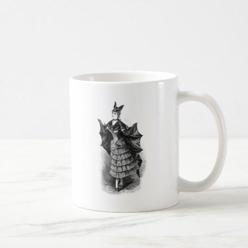 Batwoman 1899 classic white coffee mug