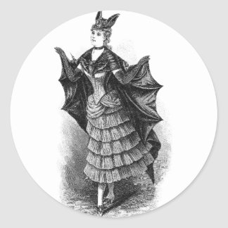 Batwoman 1899 etiquetas redondas