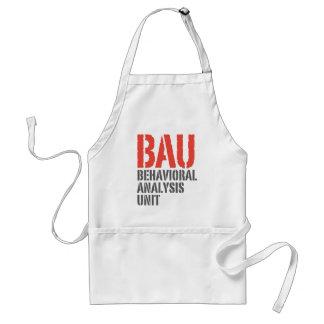 BAU Behavioral Analysis Units Adult Apron