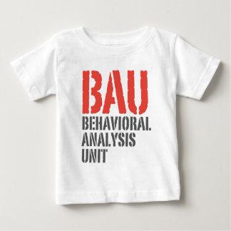 BAU Behavioral Analysis Units Baby T-Shirt
