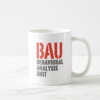 BAU Behavioral Analysis Units Coffee Mug