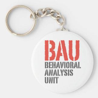 BAU Behavioral Analysis Units Key Chain