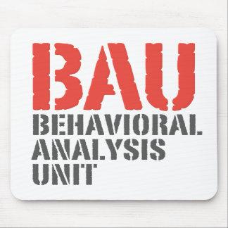 BAU Behavioral Analysis Units Mousepad