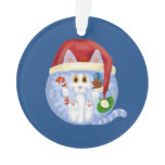 Bauble Cat Christmas Ornament