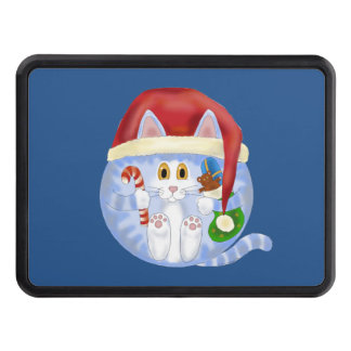 Bauble Cat Christmas Trailer Hitch Cover