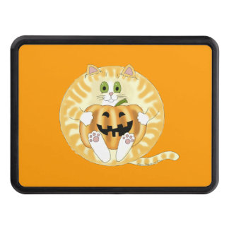 Bauble Cat Halloween Hitch Cover