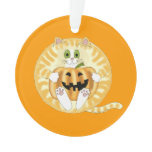 Bauble Cat Halloween Ornament