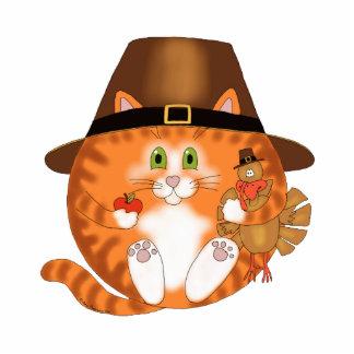 Bauble Cat Thanksgiving Photo Sculptures