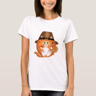 Bauble Cat Thanksgiving T-Shirt