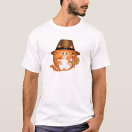 Bauble Cat Thanksgiving T-Shirt