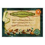 Bauble Collectives Custom 2 Sided Large Business Cards (Pack Of 100)
