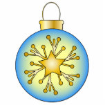 Bauble with star photo cutouts