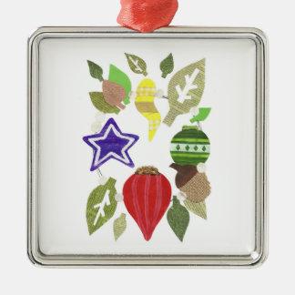Bauble Wreath Premium Ornament